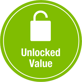 Unlocked Value